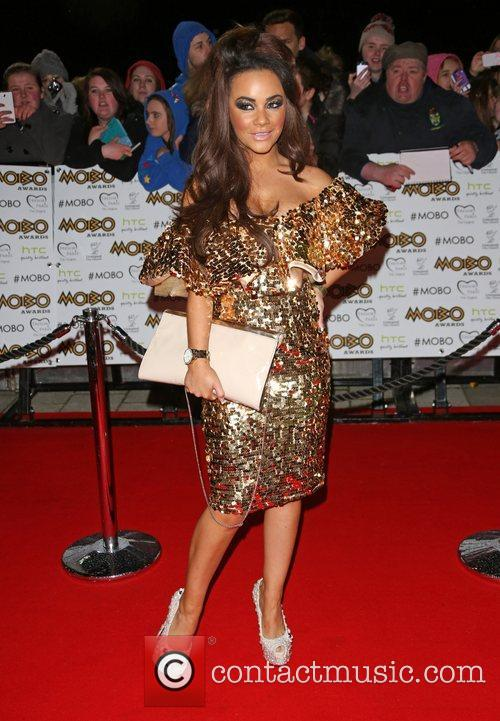 Chelsee Healey The MOBO awards 2012 held at...