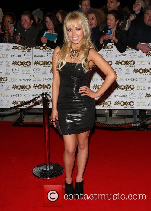 Jorgie Porter The MOBO awards 2012 held at...