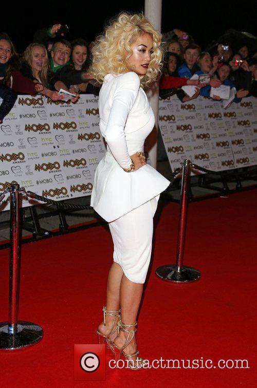 Rita Ora The MOBO awards 2012 held at...