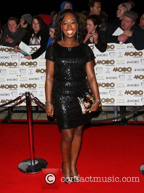 Yolanda Brown The MOBO awards 2012 held at...