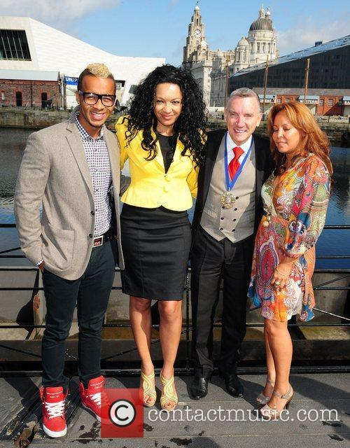 The launch of the MOBO Awards at Liverpool...