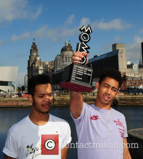 Katie Price, Rizzle Kicks and Mobo 3