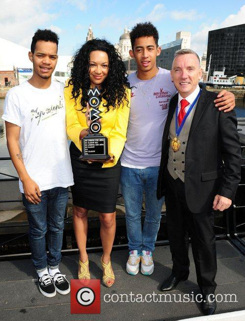 Katie Price and Rizzle Kicks 8