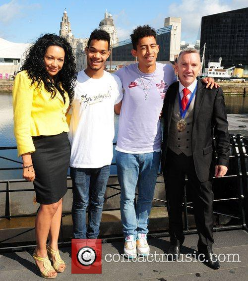 Katie Price and Rizzle Kicks 10