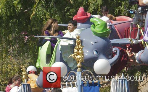 Sofia Vergara, Rico Rodriguez and Disneyland 3