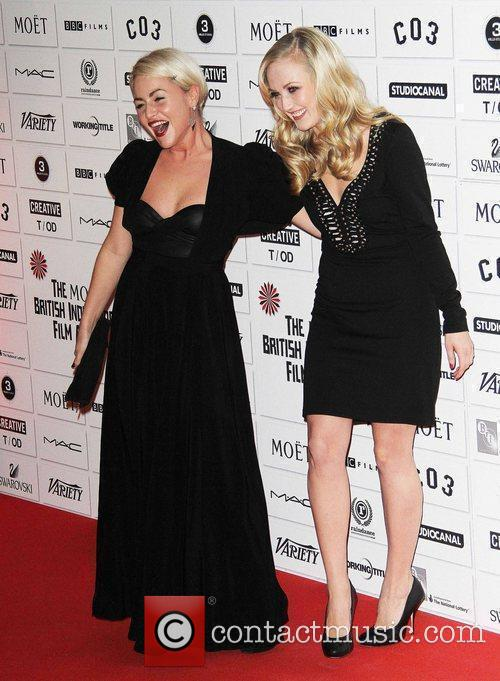 Jaime Winstone, Nichola Burley and Old Billingsgate 6