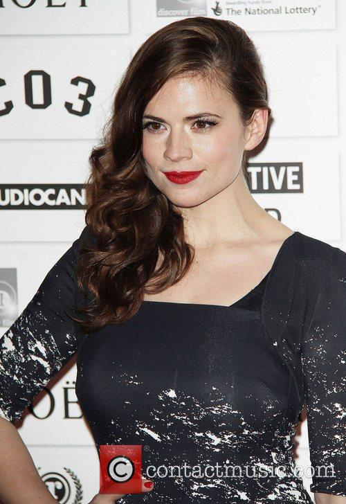 Hayley Atwell and Old Billingsgate 1