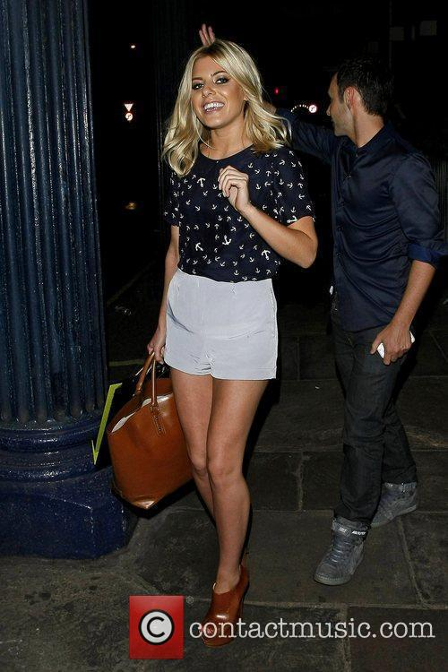 mollie king of the saturdays departing the 5856571