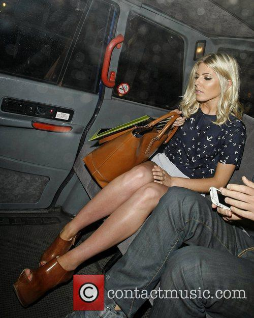 mollie king of the saturdays departing the 5856575
