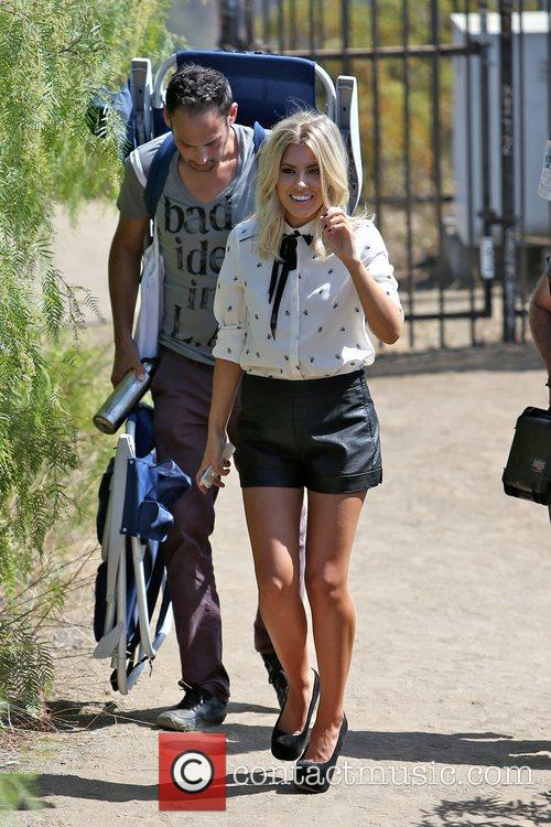 Mollie King, The Saturdays and Hollywood Hills 6
