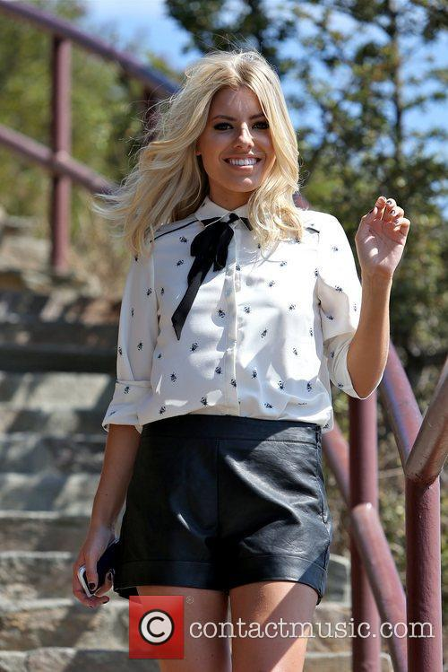 Mollie King, The Saturdays and Hollywood Hills 12