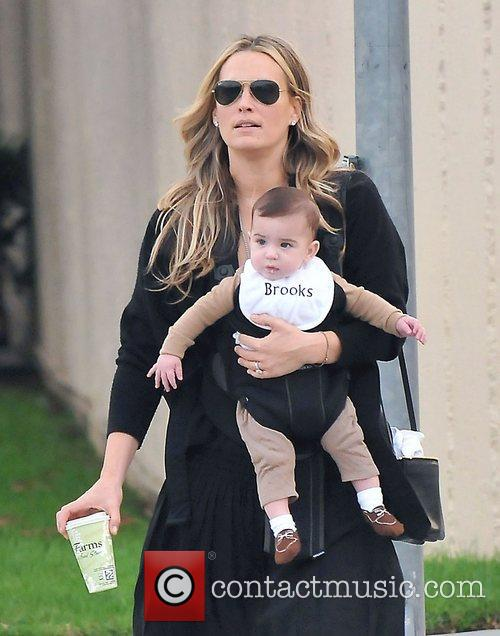 Molly Sims, Brooks Alan Stuber and West Hollywood 4
