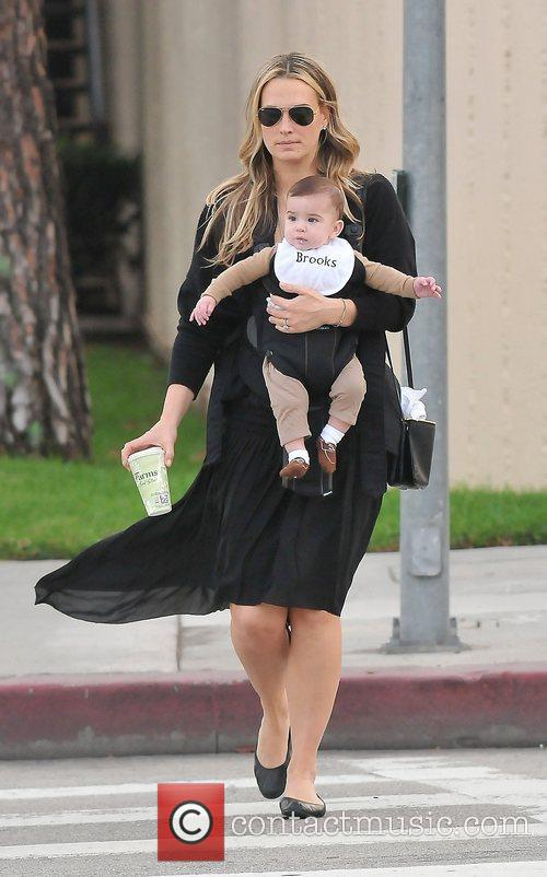Molly Sims, Brooks Alan Stuber and West Hollywood 7