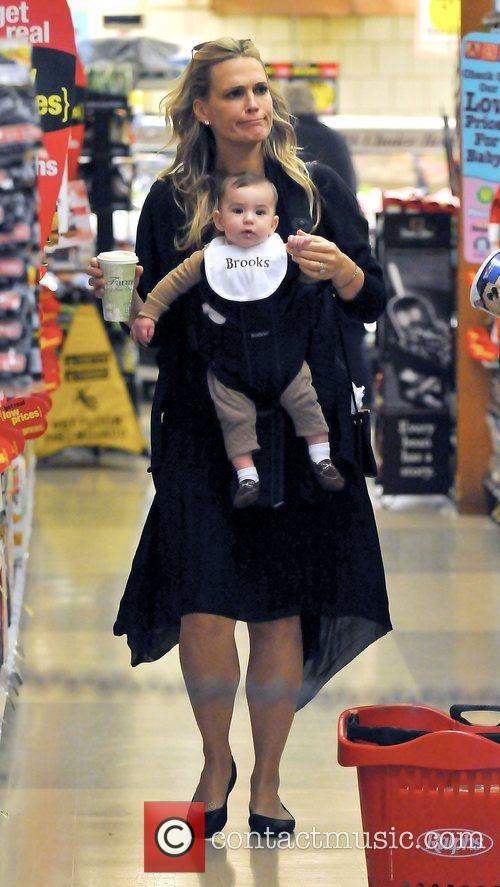 Molly Sims, Brooks Alan Stuber and West Hollywood 2