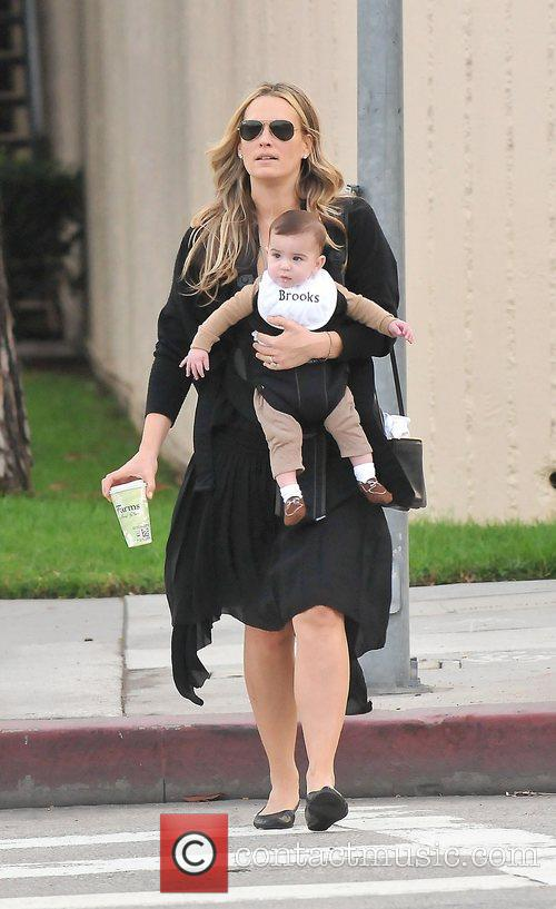 Molly Sims, Brooks Alan Stuber and West Hollywood 1