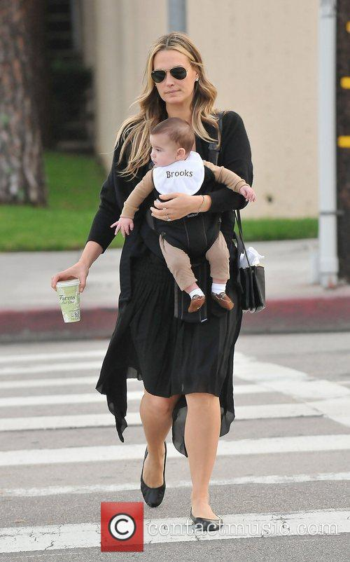 Molly Sims, Brooks Alan Stuber and West Hollywood 3