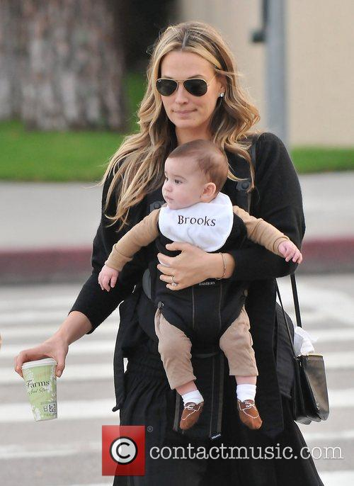Molly Sims, Brooks Alan Stuber and West Hollywood 6