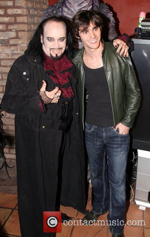 Cleve Hall and RJ Mitte Attends SYFY's Monster...