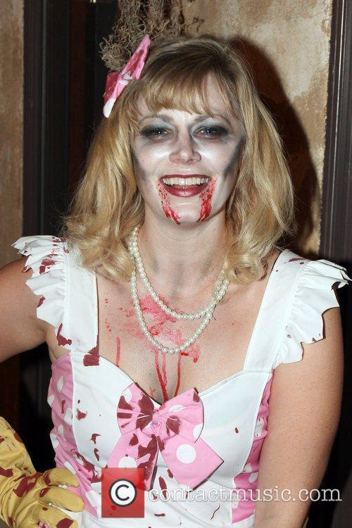 Jessica Cameron Attends SYFY's Monster Man Halloween Party...