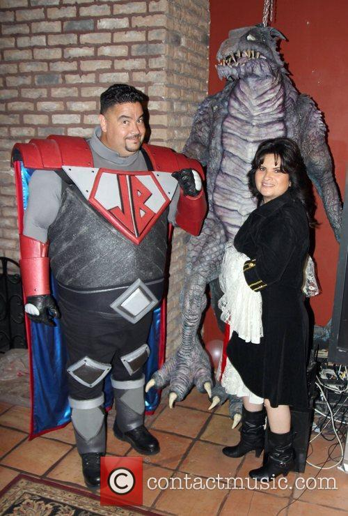 Lou Pizarro Attends SYFY's Monster Man Halloween Party...