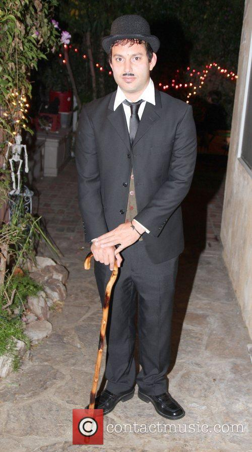 Ryan Cleary Attends SYFY's Monster Man Halloween Party...