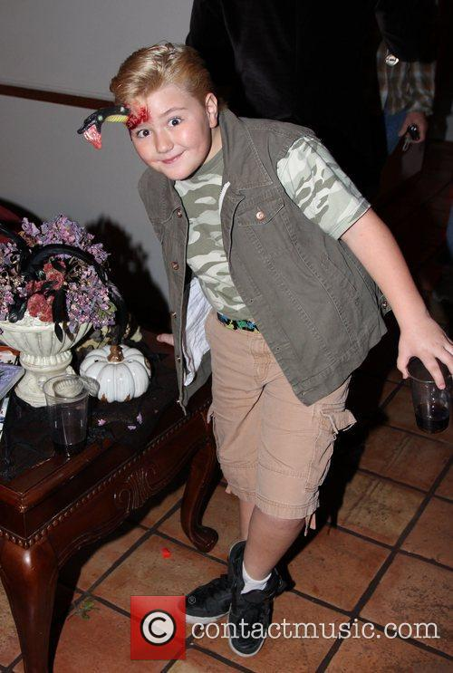 Zachary Alexander Attends SYFY's Monster Man Halloween Party...