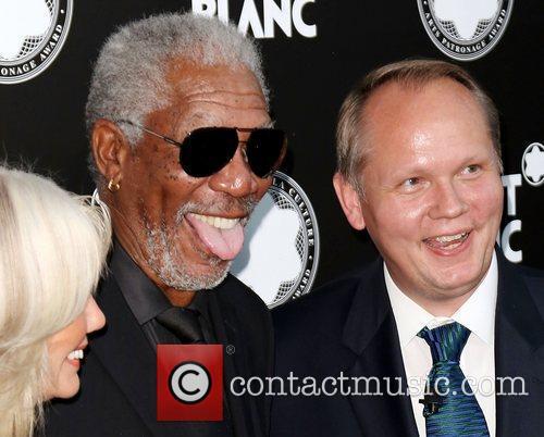 Guest, Morgan Freeman, Jan-patrick and Schmitz 4