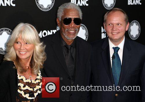 Guest, Morgan Freeman, Jan-patrick and Schmitz 3