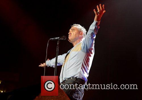 Morrissey and Manchester Evening News Arena 16