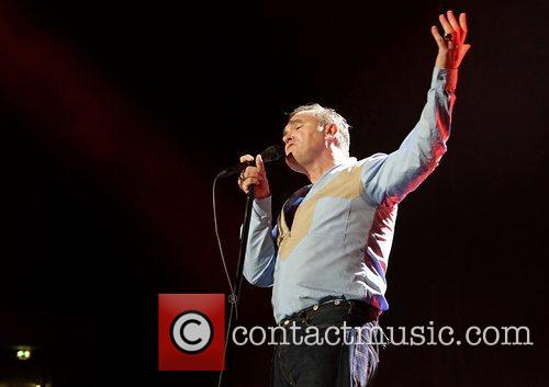 Morrissey and Manchester Evening News Arena 62