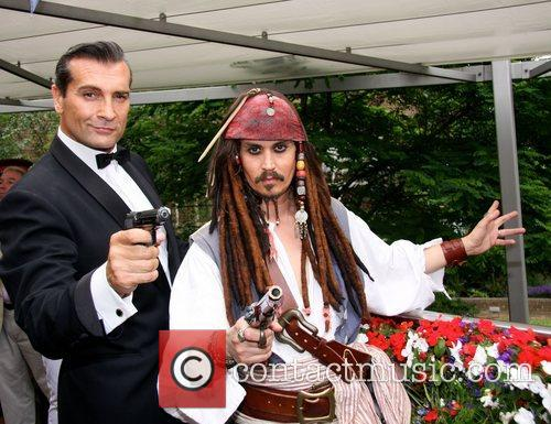 Johnny Depp and Sean Connery