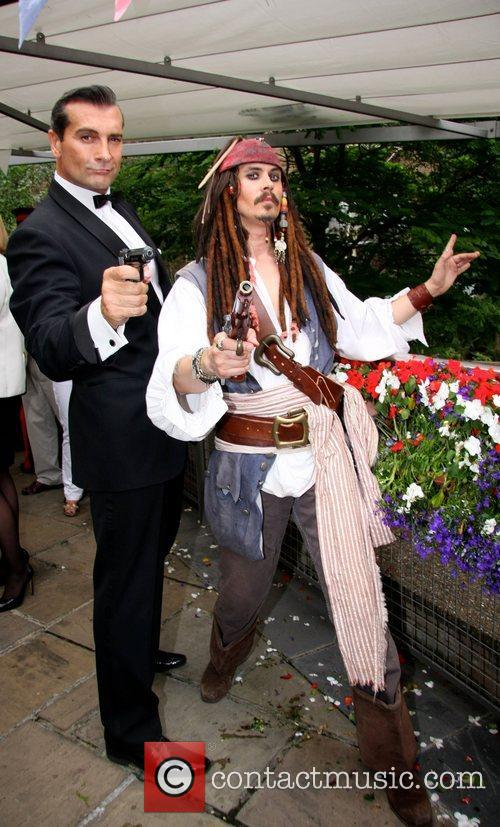 Johnny Depp and Sean Connery 2