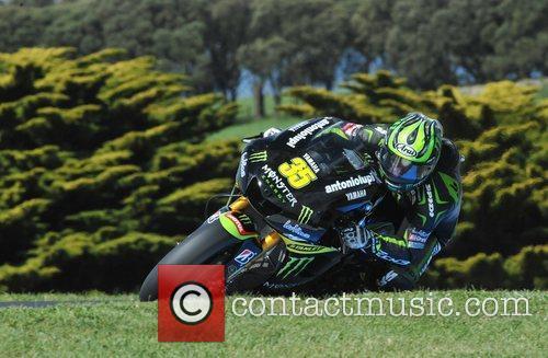 Cal Crutchlow 2012 AirAsia Australian Motorcycle Grand Prix...