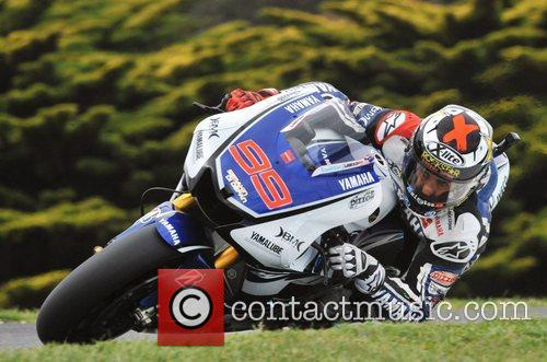 Jorge Lorenzo 2012 AirAsia Australian Motorcycle Grand Prix...