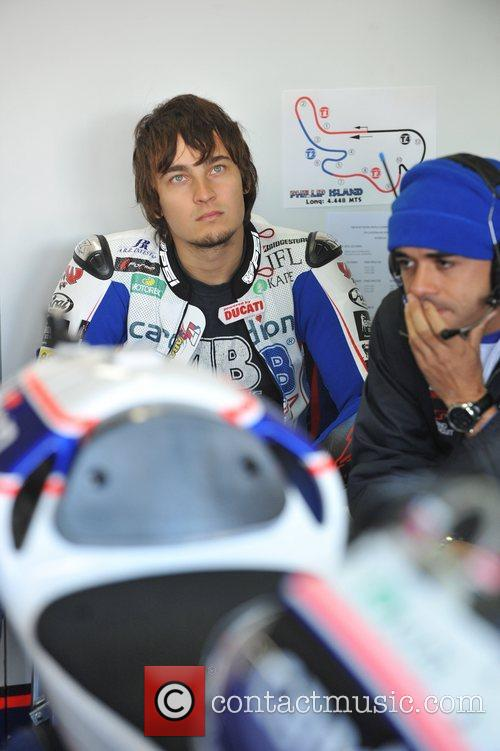 Karel Abraham 2012 AirAsia Australian Motorcycle Grand Prix...
