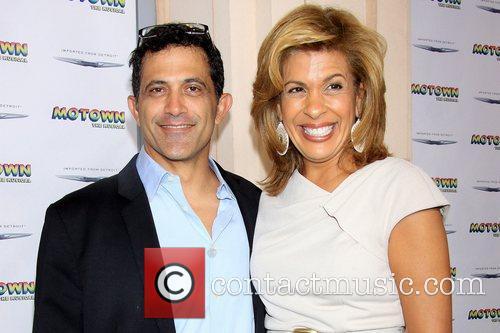 Robert Pennino and Hoda Kotb The Launch of...