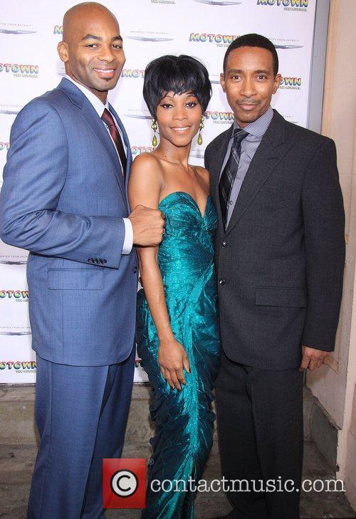 Brandon Victor Dixon, Valisia LeKae and Charles Randolph...
