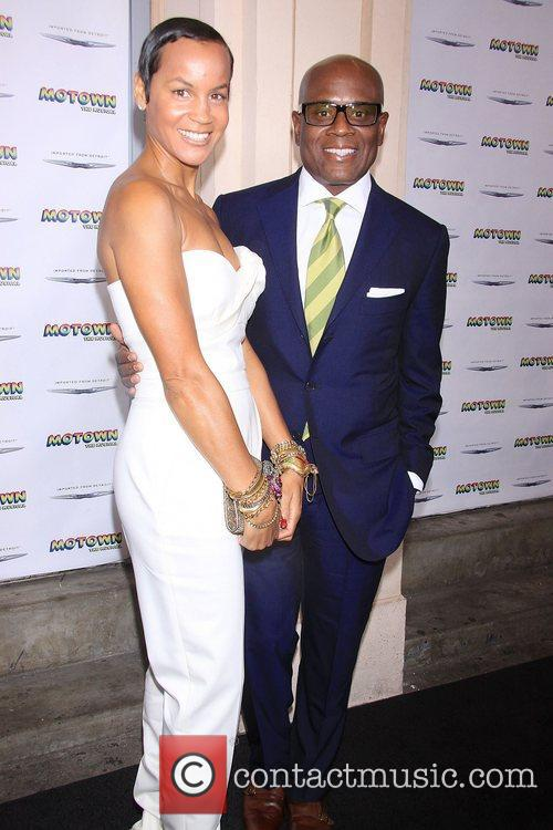 Erica Holton Reid and L.A. Reid The Launch...