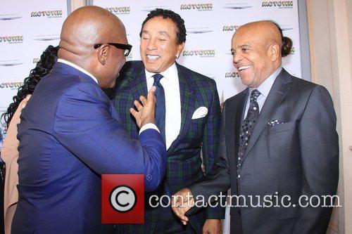Smokey Robinson, L.A. Reid and Berry Gordy Jr....