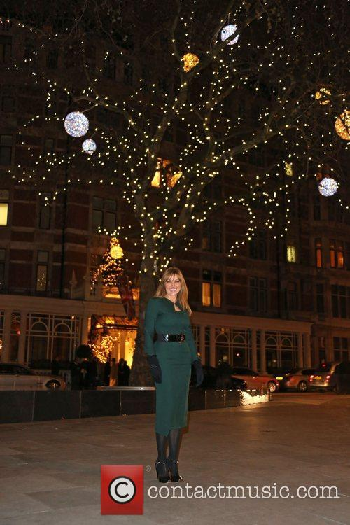 carol vorderman switches on the mount street 4184036