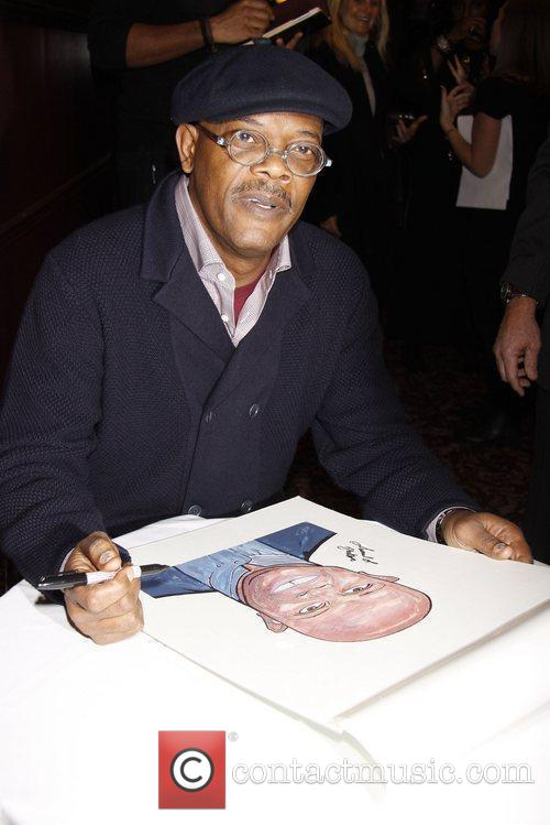 Unveiling of Sardi's portraits for the cast of...