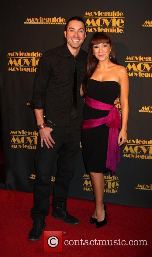 Ace Young and Diana DeGarmo 2012 Movieguide awards...