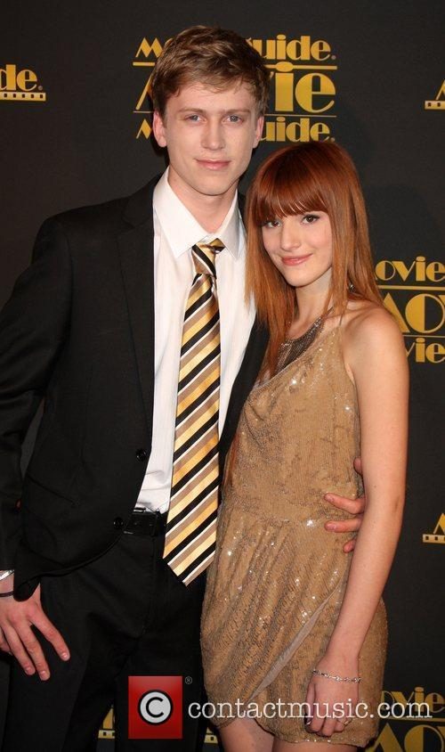 Tristan Klier and Bella Thorne 2012 Movieguide awards...