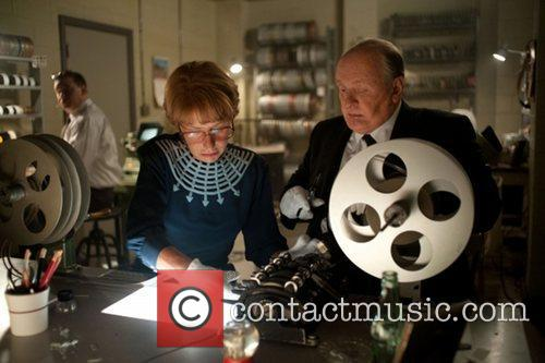 Anthony Hopkins and Helen Mirren  Film still...