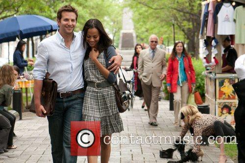 Bradley Cooper and Zoe Saldana  Film stills...
