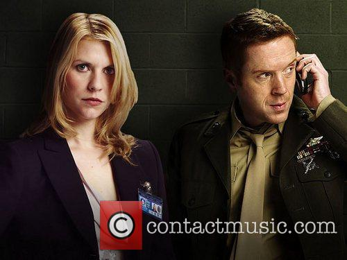 Damian Lewis and Claire Danes  Film stills...