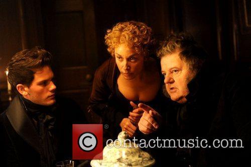 Jeremy Vine, Tamzin Outhwaite and Robbie Coltrane
