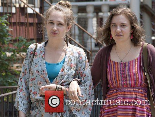 Jemima Kirke, Lena Dunham  Girls (HBO) Season...