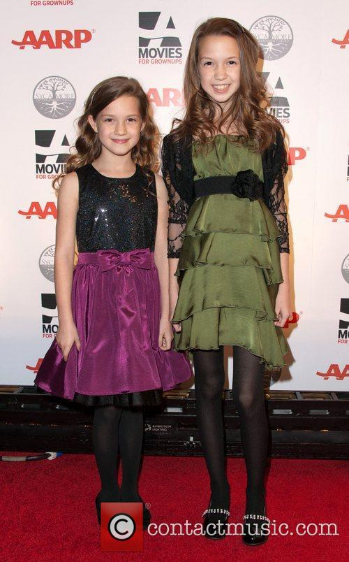 Allie Shea & Olivia Shea  AARP's 11th...