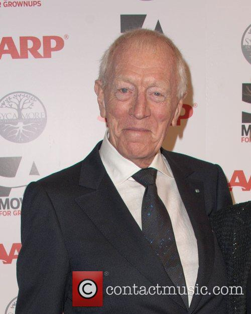 Max Von Sydow AARP's 11th Annual Movies For...